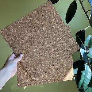 Other - Set of Square Cork Panels